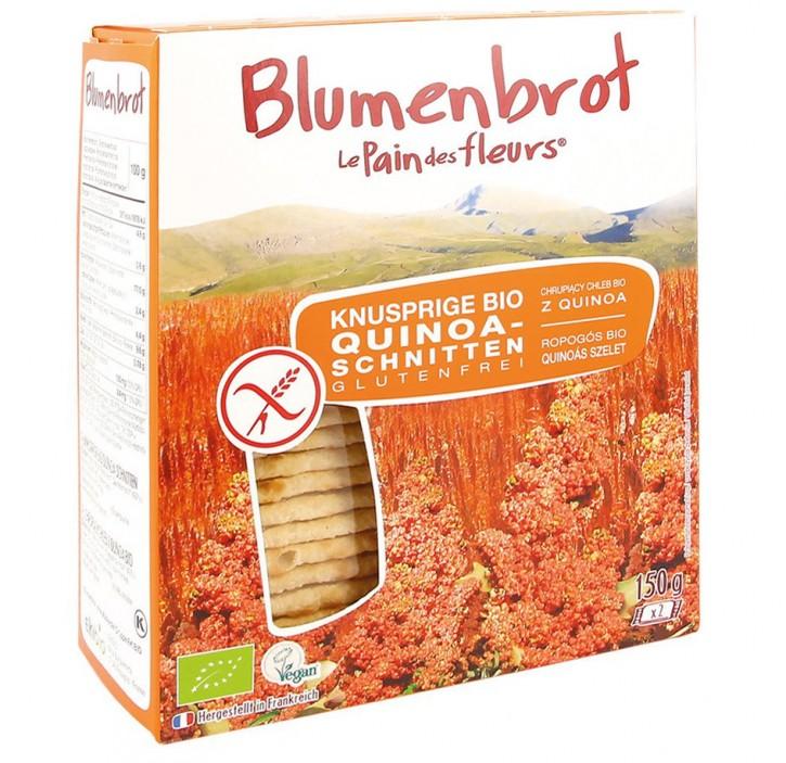 Knusprige Bio Quinoa-Schnitten, 150g Blumenbrot