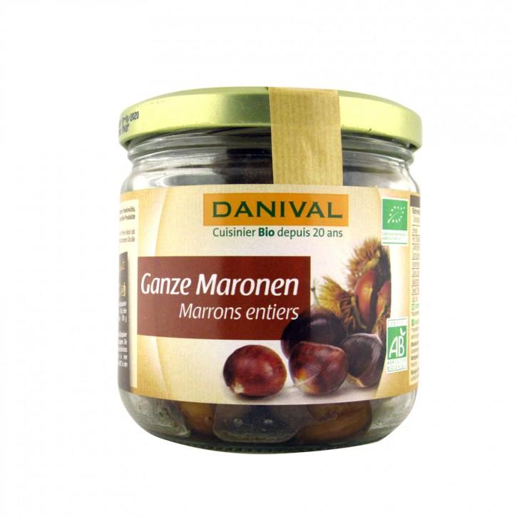 Ganze Maronen bio 200g