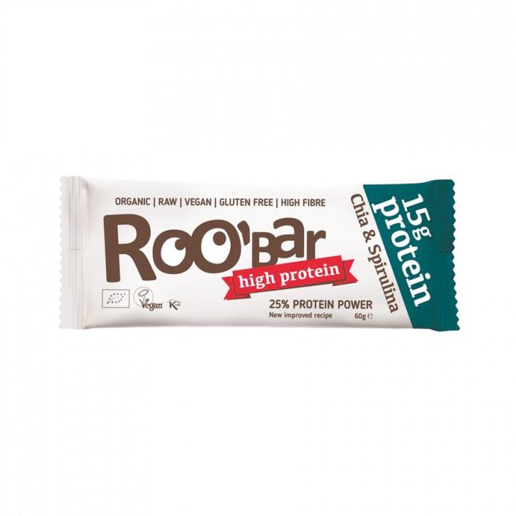 Roobar Protein Chia & Spirulina bio 60g
