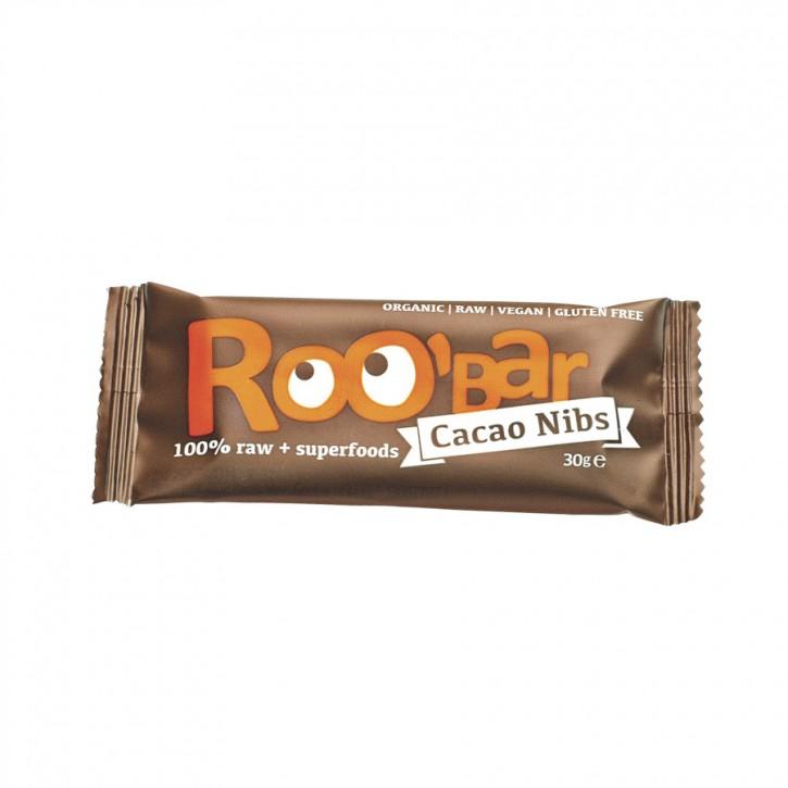 Roobar Cacao Nibs bio 30g