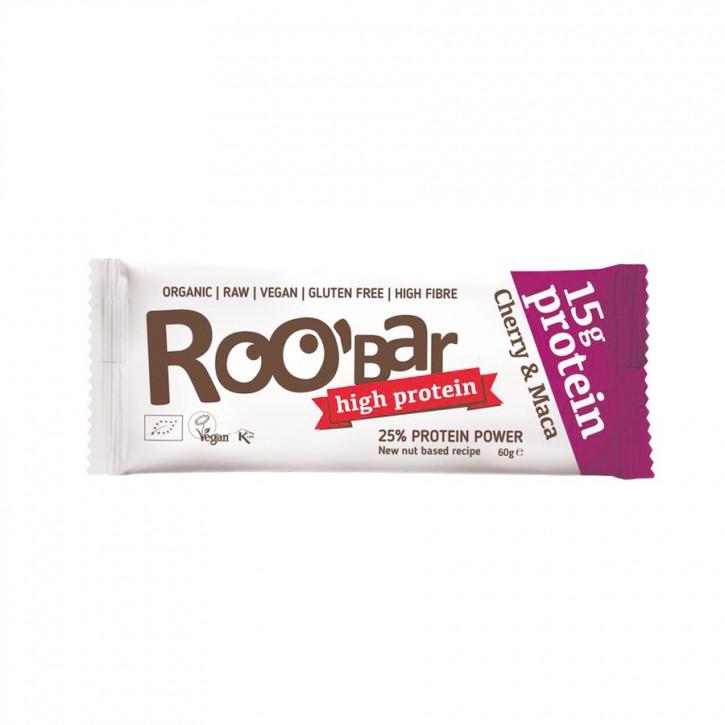Roobar Protein Cherry Maca bio 60g