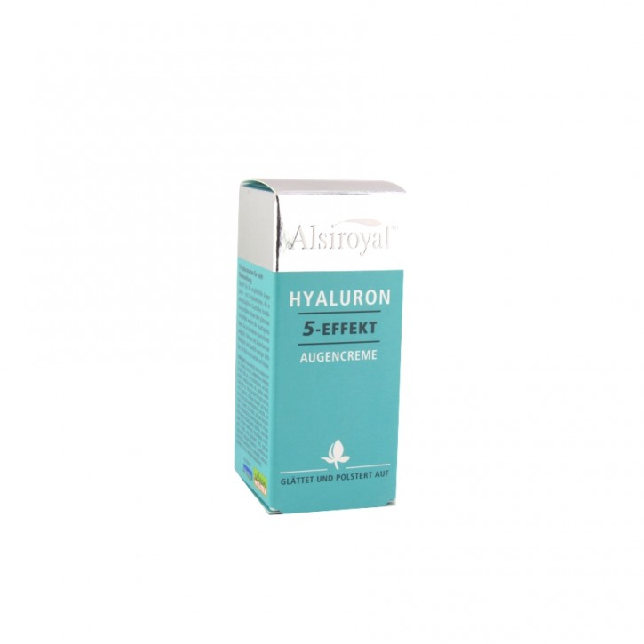 Hyaluron Augencreme 15ml Alsiroyal