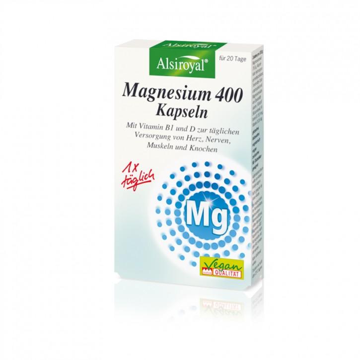 Magnesium 400 20Stk Alsiroyal