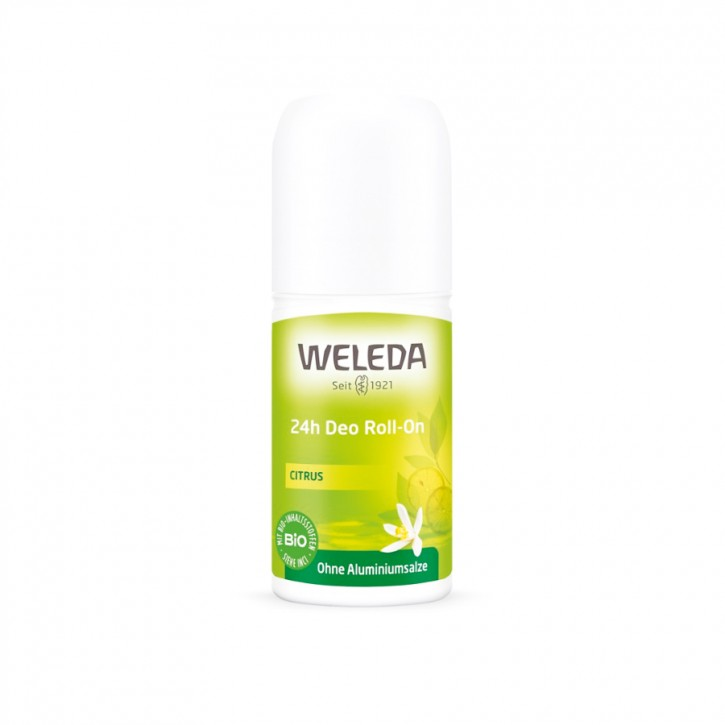 Citrus 24h Deo Roll-on 50ml Weleda
