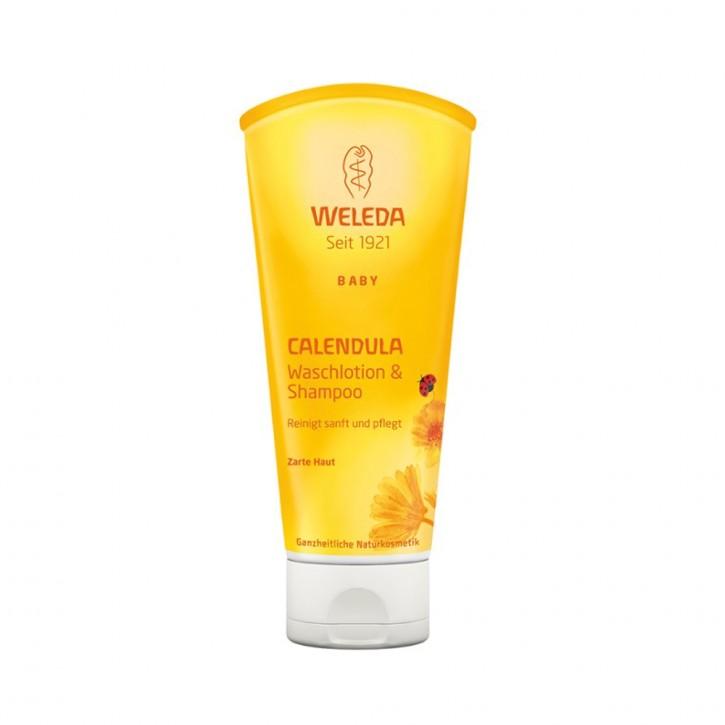 Calendula Waschlotion & Shampoo 200ml Weleda