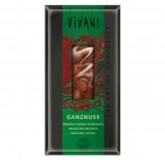 Vollmilchschokolade mit ganzen Nüssen Vivani 100g
