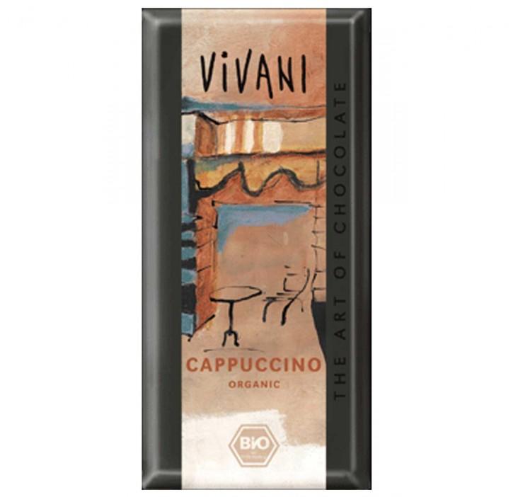 Schokolade Capuccino Vivani 100g