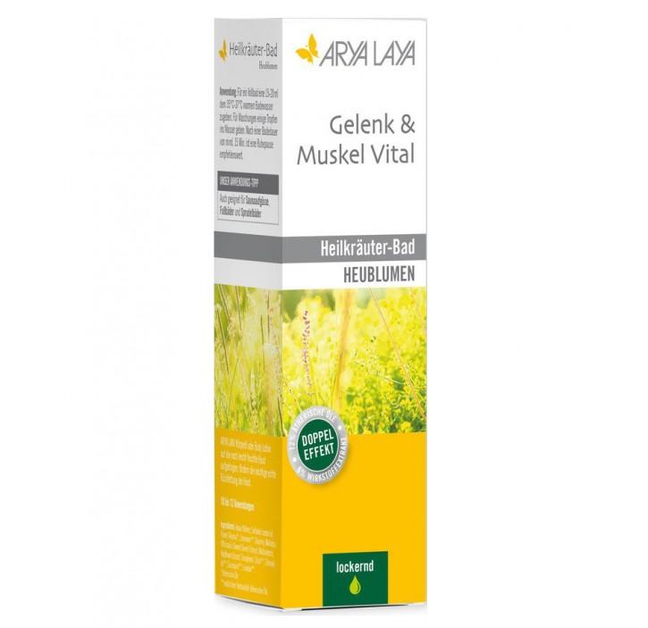 Heilkräuter-Bad Gelenk & Muskel Aktiv - Heublumen, 200ml