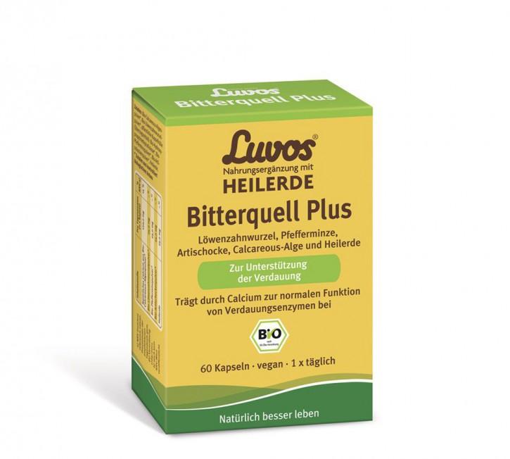 Luvos Bitterquell Plus Bio zur Unterstützung d Verdauung, 60St