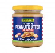 Peanutbutter Crunchy bio, 250g Rapunzel