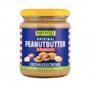 Peanutbutter Crunchy bio, 250g