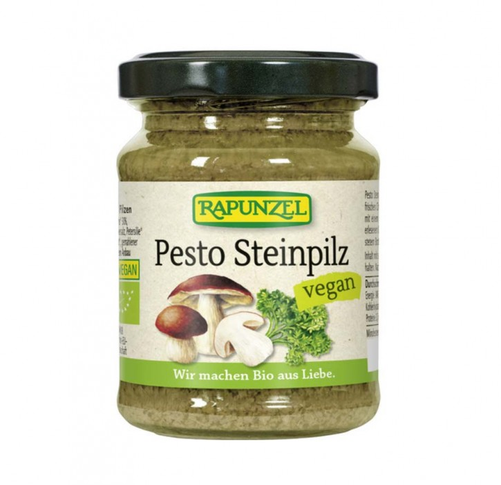 Pesto Steinpilz bio, vegan, 120g Rapunzel