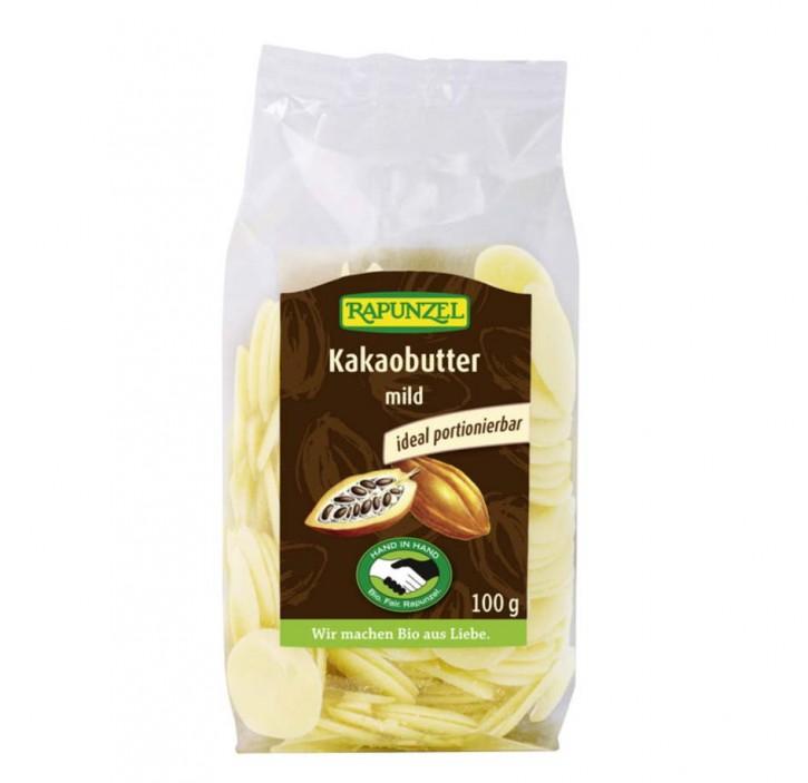 Kakaobutter mild bio, 100g