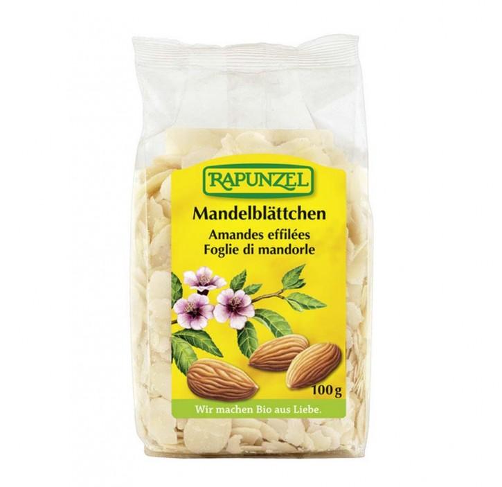 Mandelblättchen bio, 100g Rapunzel