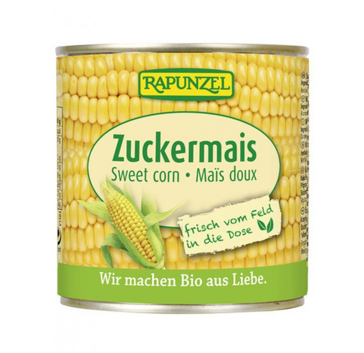 Zuckermais in der Dose bio, 340g