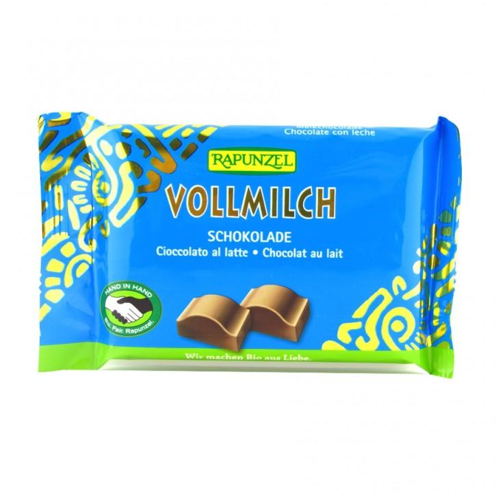 Cristallino Vollmilch Schokolade Bio 100g Rapunzel
