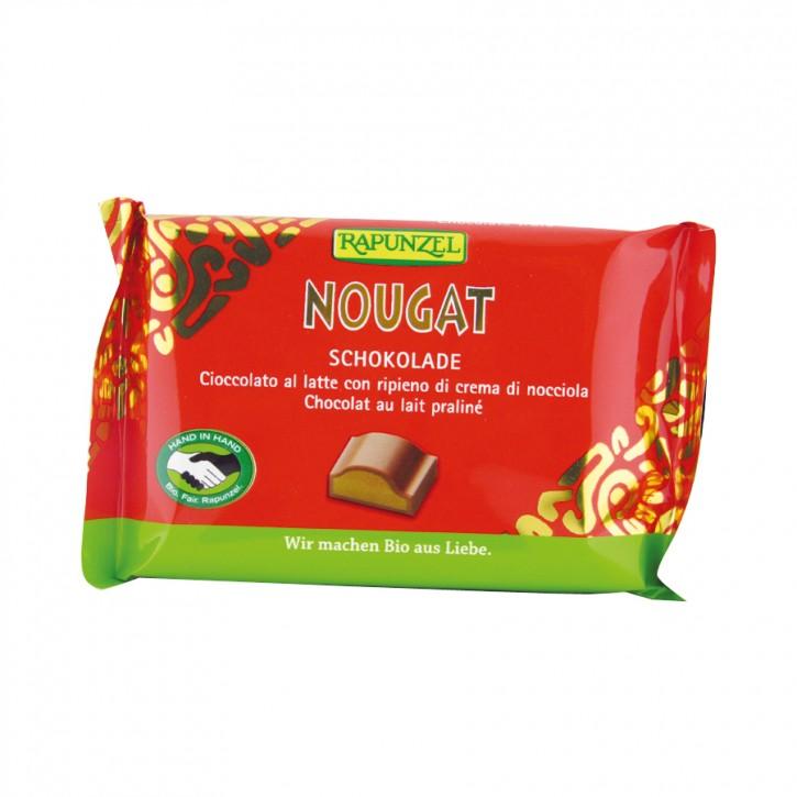 Cristallino Nougat Schokolade bio 100g Rapunzel