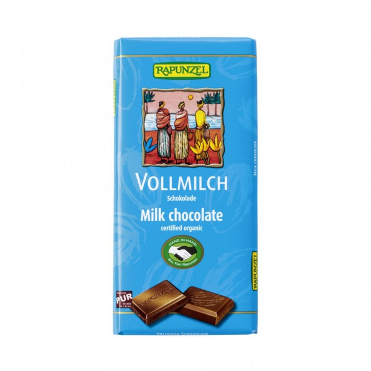 Schokolade Vollmilch 100g Rapunzel