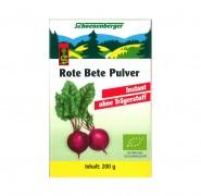 Rote Beete PulverR kbA Schöneberger 200g