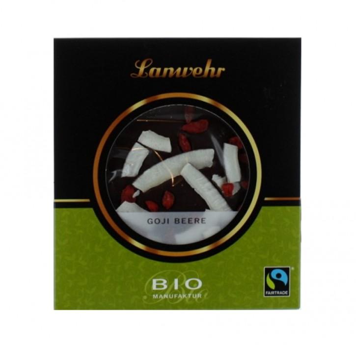 Schokoladentaler Goji bio Lanwehr 100g