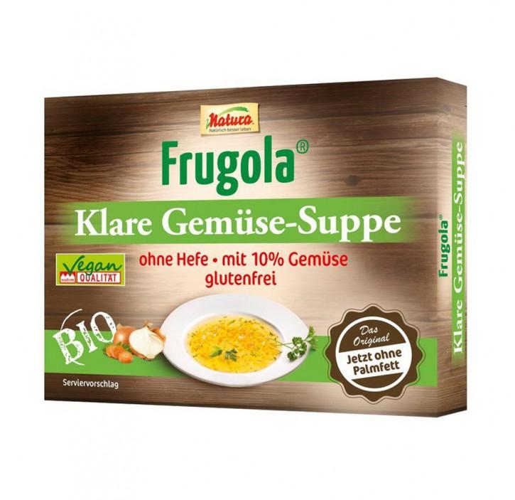 Frugola Bio Klare Gemüse-Suppe ohne Hefe 6 Würfel à 11g