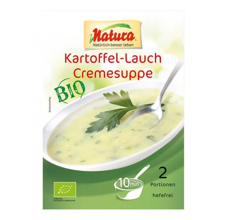 Bio Kartoffel-Lauch Cremesuppe, 50g