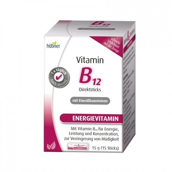 Vitamin B12 15 Sticks Hübner