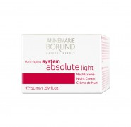 SYSTEM ABSOLUTE LIGHT NACHT Börlind 50ml