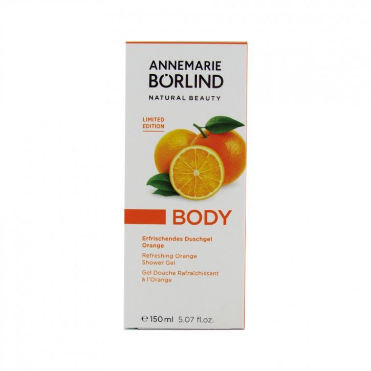 Erfrischendes Duschgel Orange 150ml Börlind
