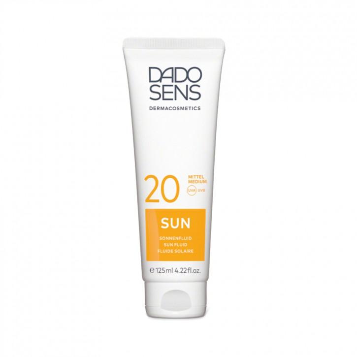 SUN Sonnenfluid LSF20 125ml Dadosens