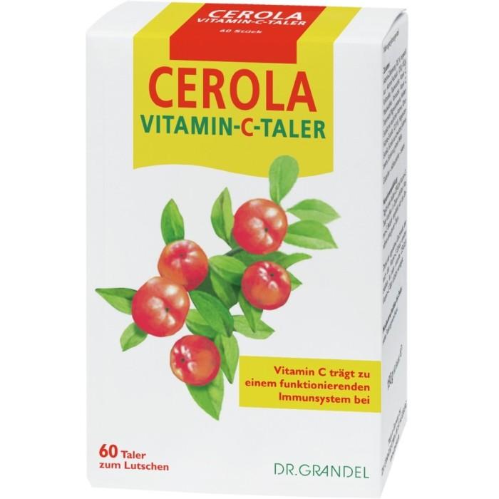 Cerola Vitamin C Taler Dr. Grandel 60stk