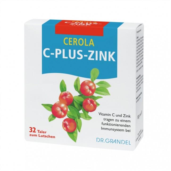 Cerola Vitamin C Zink Dr. Grandel 32Stk