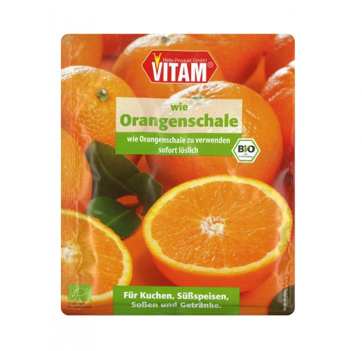 wie Orangenschale, 30g