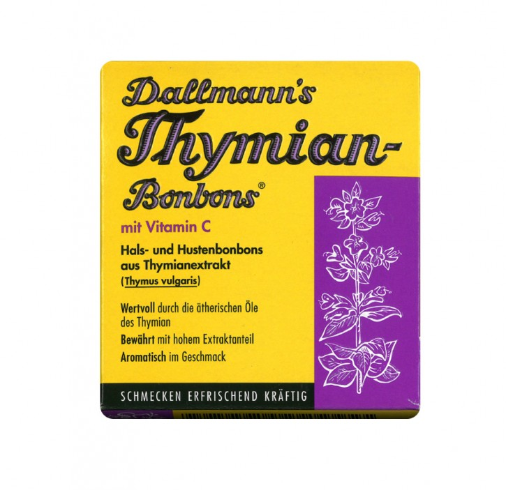 Dallmann's Thymianbonbons mit Vitamin C 20 Stk.