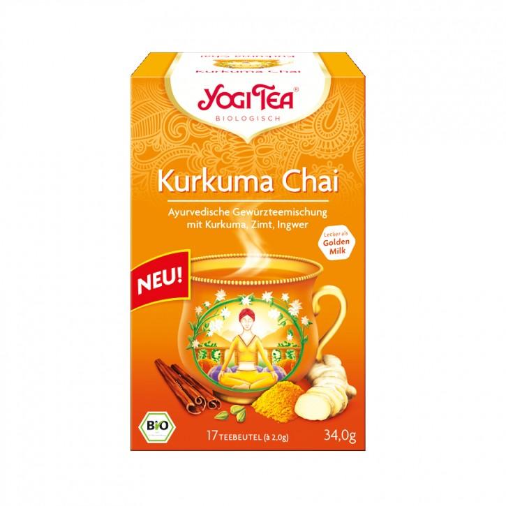 Kurkuma Chai bio Tee 17 Stk. Yogi Tea