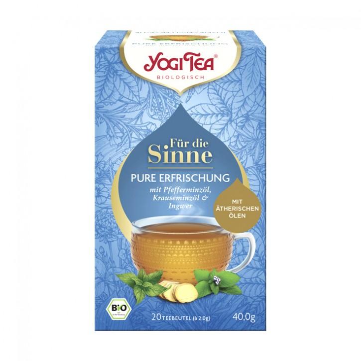 Yogi Tea® Für die Sinne Pure Erfrischung Bio, 20St