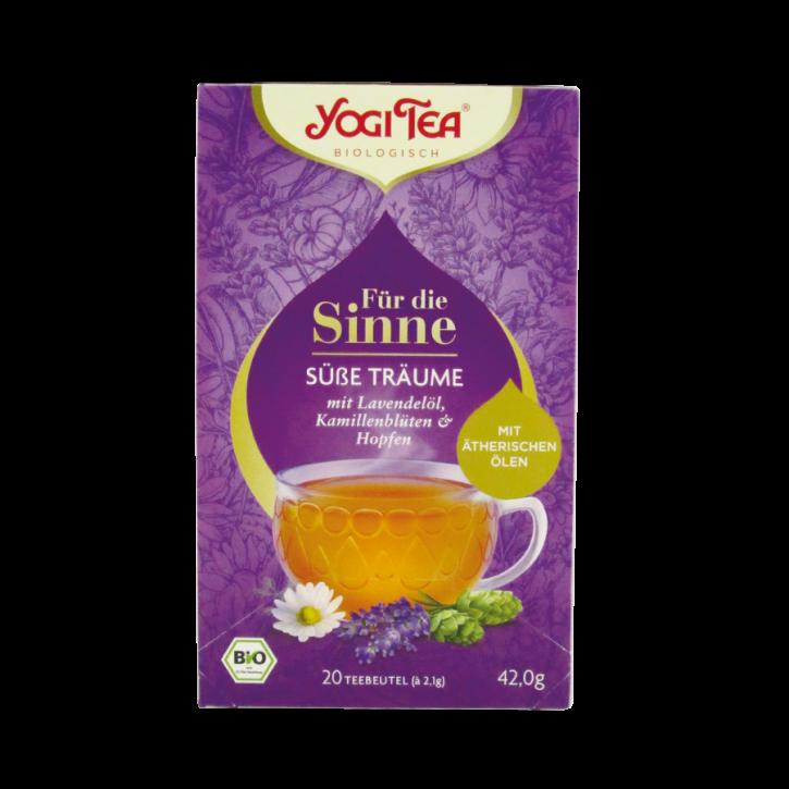 Für die Sinne Süße Träume bio 20Stk Yogi Tea