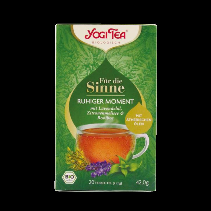 Für die Sinne Ruhiger Moment bio 20 Stk. Yogi Tea