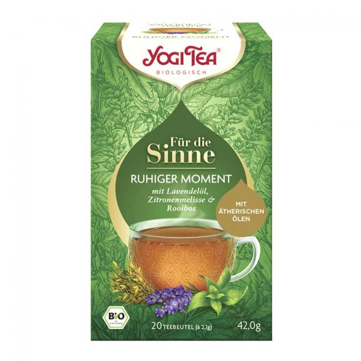Yogi Tea® Für die Sinne Ruhiger Moment Bio, 20St