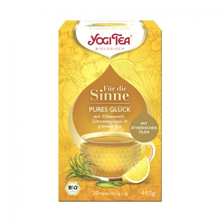 Yogi Tea® Für die Sinne Pures Glück Bio, 20St