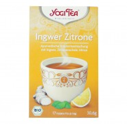 YOGI TEE Ingwer Zitronen Tee bio 17Btl.