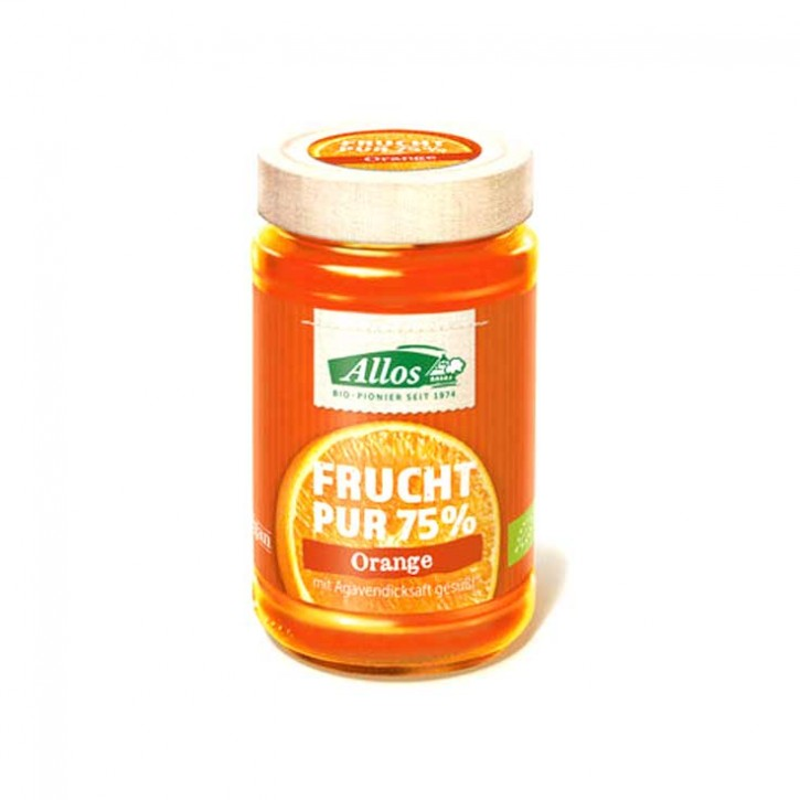 Allos Frucht Pur 75% Aufstrich Orange 250g