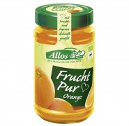 FRUCHT PUR ORANGE AUFSTRICH Allos 250g