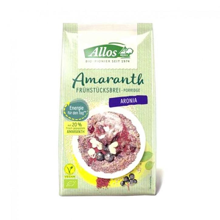 Amaranth Frühstücksbrei Aronia bio Allos 400g