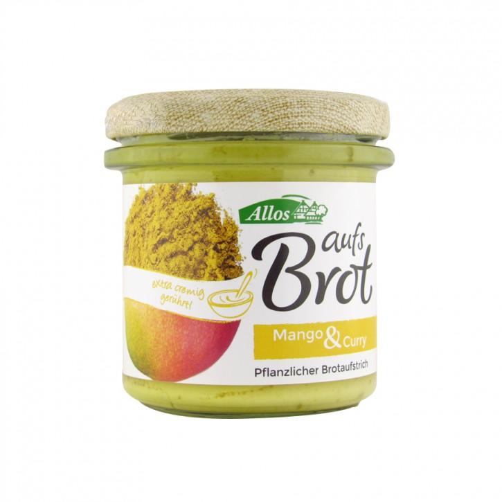 """Bio Aufstrich """"Aufs Brot"""" Mango&Curry 140g"""