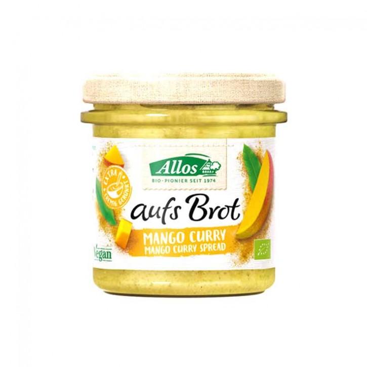 """Bio Aufstrich """"Aufs Brot"""" Mango & Curry 140g"""