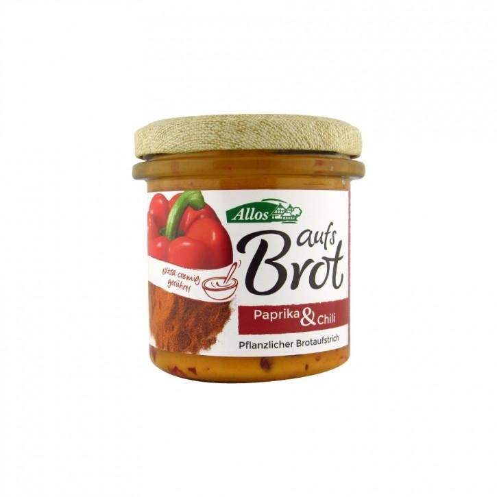 """Bio Aufstrich """"Auf´s Brot"""" Paprika & Chili 140g"""