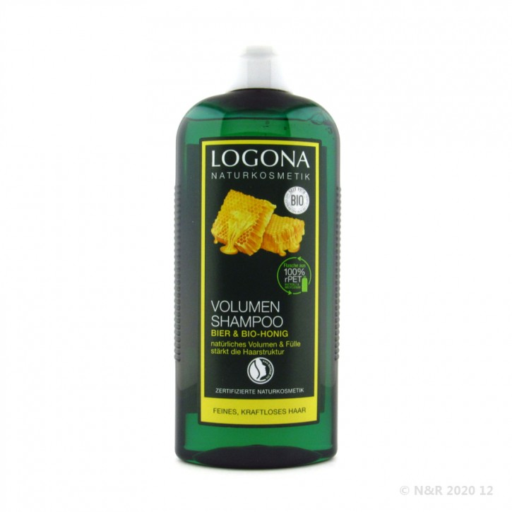 Volumen Shampoo Bier-Honig Logona 250ml