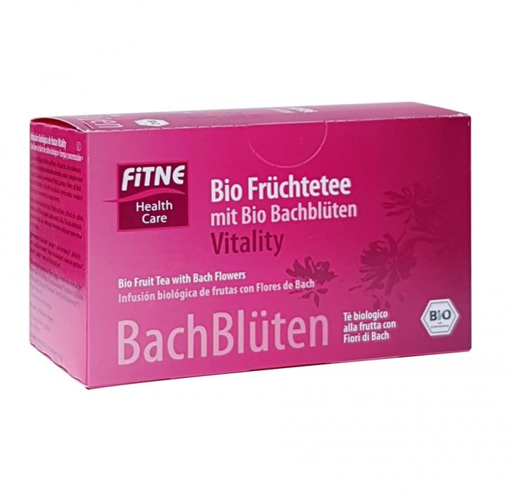 Bachblüten Tee Vitality 20 Beutel 24g