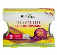 AlmaWin SAUBER ZAUBER Eco Schwamm m.Bio Seife